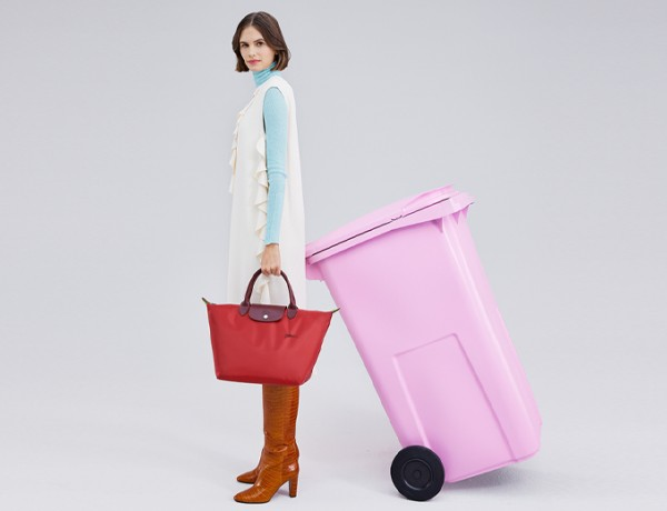New Le Pliage® line today in recycled nylon
