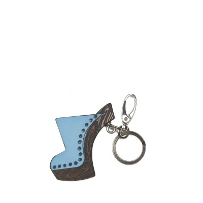 Key ring in clog