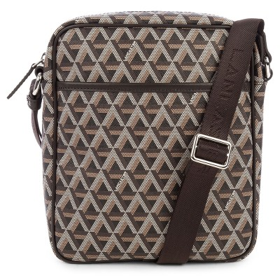 Ikon men's crossbody bag brown