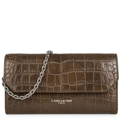 EXOTIC CROCO CONTINENTAL WALLET