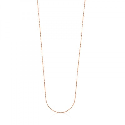 Neckless TOUS Chain in rose gold