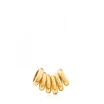 TOUS set of rings for neckless in gold