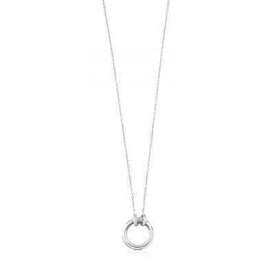 Neckless TOUS Hold in silver