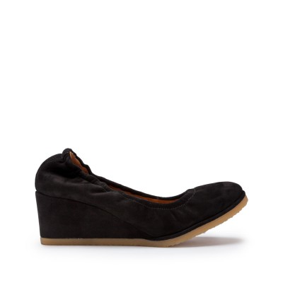Marion suede wedge